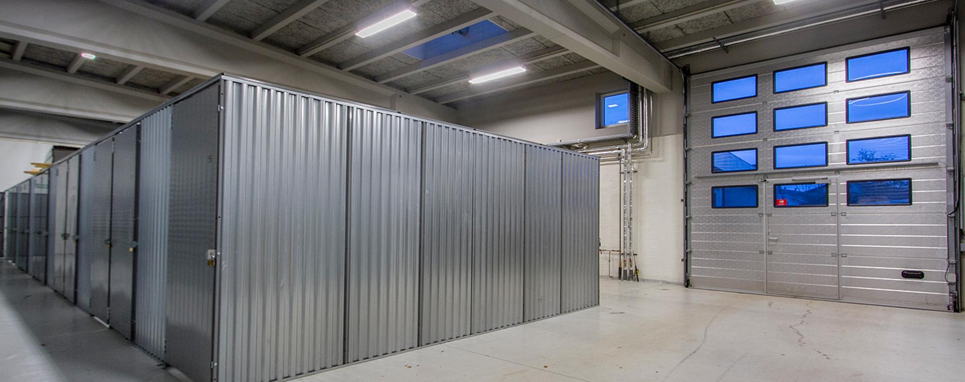 Opbevarings- og depotrum i Hadsten