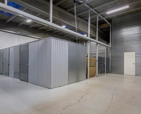Opbevaringsrummene på Mågevej 17 i Hadsten
