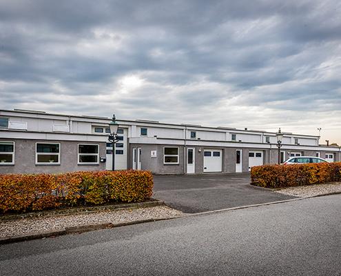 Indgangen til depotrum på Mågevej 17